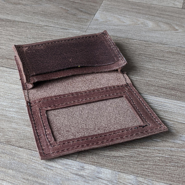 Rabbit Card Holder - Brown Leather