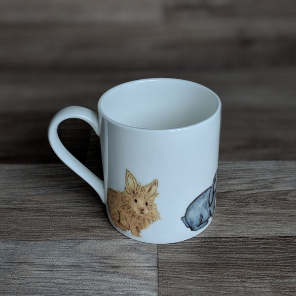 Rabbit Mug [Herd] | Everything Bunny Rabbit - Everything Bunny Rabbit