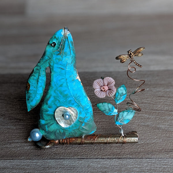 Rabbit Assemblage on Key | Everything Bunny Rabbit