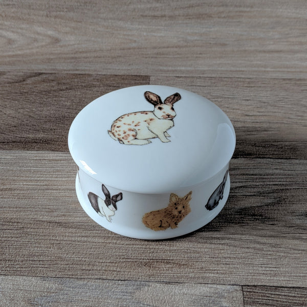 Rabbit Trinket Box - Everything Bunny Rabbit