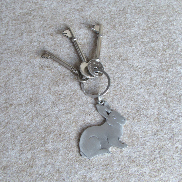Rabbit Key Ring | Everything Bunny Rabbit - Everything Bunny Rabbit
