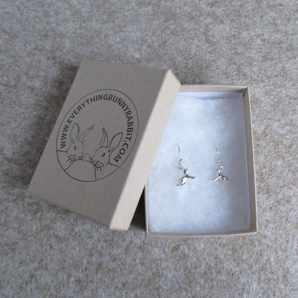 Rabbit Earrings [Sitting] | Everything Bunny Rabbit - Everything Bunny Rabbit