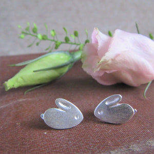 Rabbit Stud Earrings - Everything Bunny Rabbit