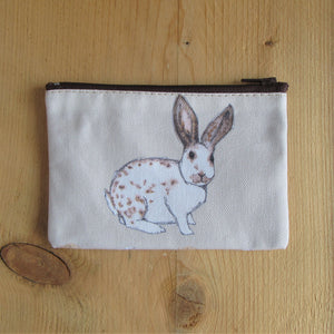 Rabbit Purse [English Spot] - Everything Bunny Rabbit