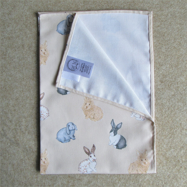Rabbit Tea Towel - Everything Bunny Rabbit