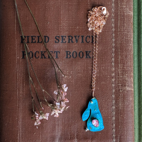 Copper Rabbit Necklace | Everything Bunny Rabbit