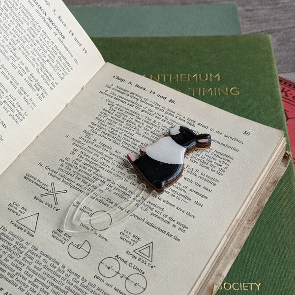 Rabbit Clip Book Mark (Dutch) - Everything Bunny Rabbit