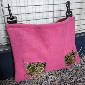 Rabbit Hay Feeder [Pink] - Everything Bunny Rabbit