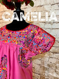 San Antonio Mexican Dress Long