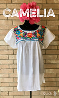 Boho Peasant Mexican Blouse
