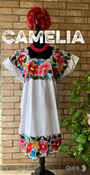 Yucatan Huipil Dress
