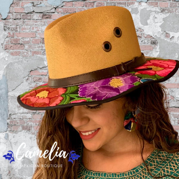 Mexican Embroidered Sun Hat