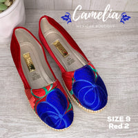 Mexican Embroidered Espadrille Shoes
