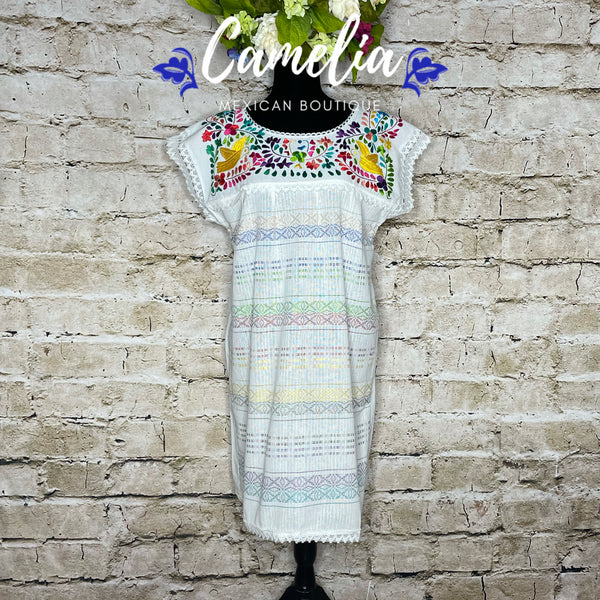 Paloma Loomed Mexican Midi Dress