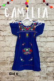 Puebla Mexican Dress for Girls