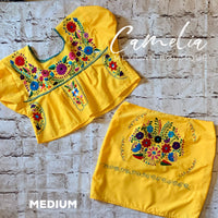 Puebla Mexican Two Piece Outfit