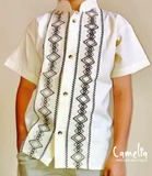 Mexican Shirt Men Short Sleeve