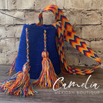 Crocheted Columbian Wayuu Tote - Large