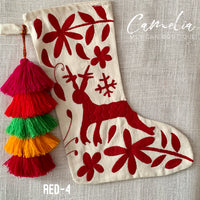 Mexican Christmas Stocking Otomi