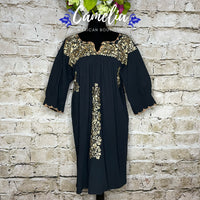 San Antonio Mexican Dress - 3/4 Sleeve