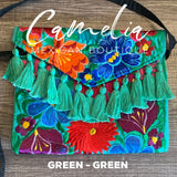 Mexican Embroidered Clutch Crossbody