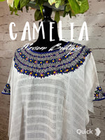 Guatemalan Huipil Blouse Cover Up
