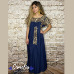 San Antonio Gala Mexican Dress Long
