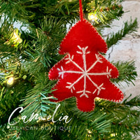 Mexican Felt Ornament Christmas Tree