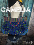 Hand Embroidered Mexican Tote Chiapas