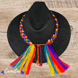 Mexican Suede Hat Braided Band