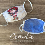 FRIDA KAHLO Face Mask GLASSES