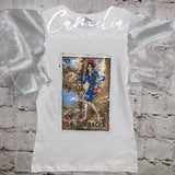 Mexican Loteria Shirt LA BORRACHA