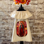 Girl Mexican Dress Virgin Mary
