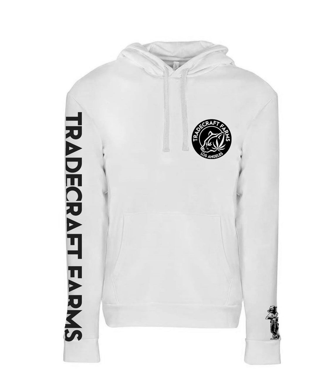 TRADECRAFT FARMS PULLOVER HOODY - WHITE