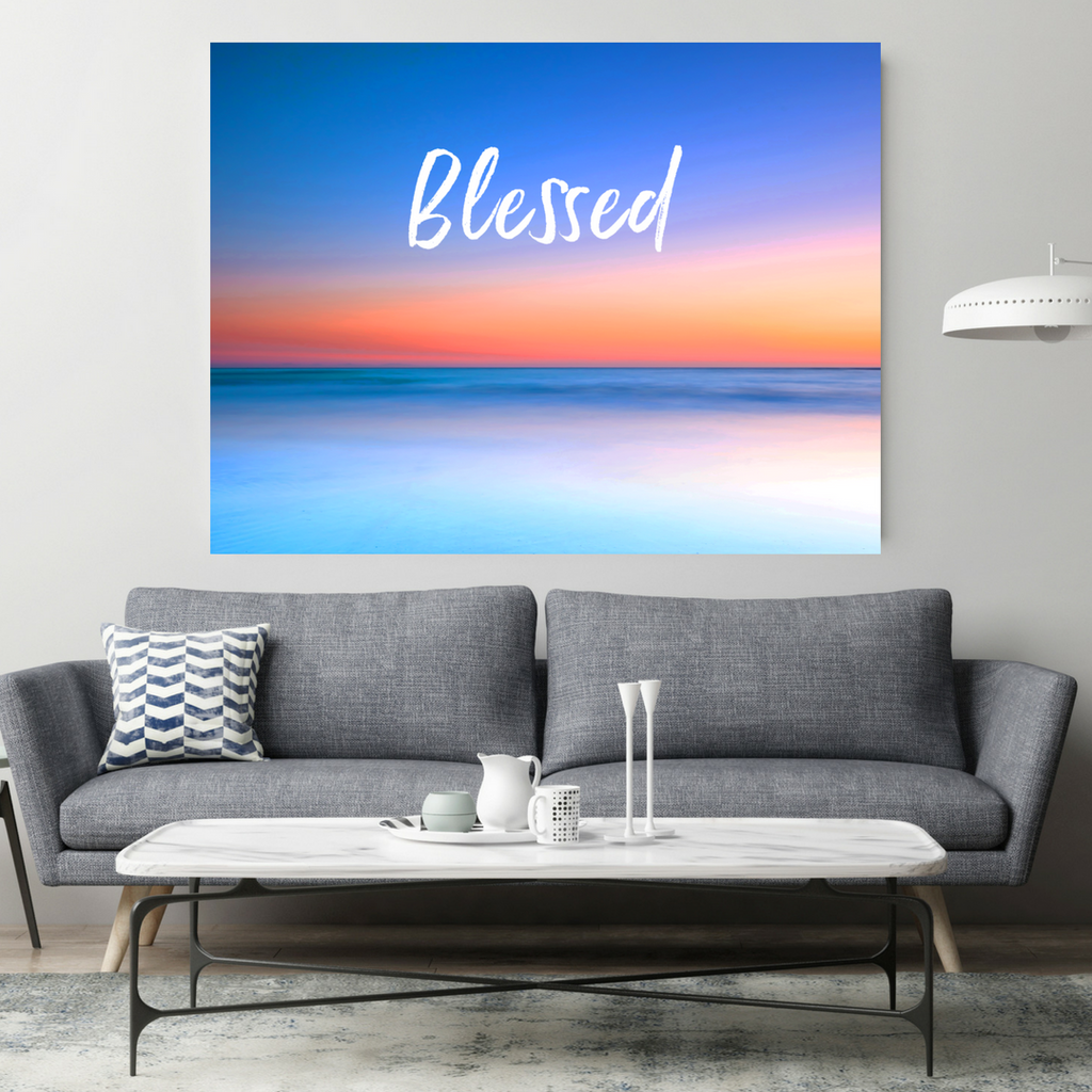 Blessed Home Decor Canvas Wall Art