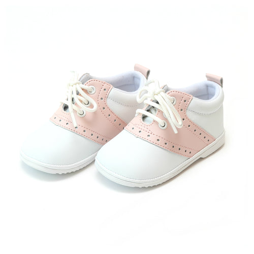 Addie Pink Saddle Oxford Shoe (Baby)