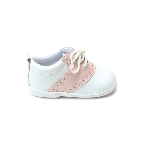 Addie Girl's Pink Saddle Oxford Shoe (Baby)