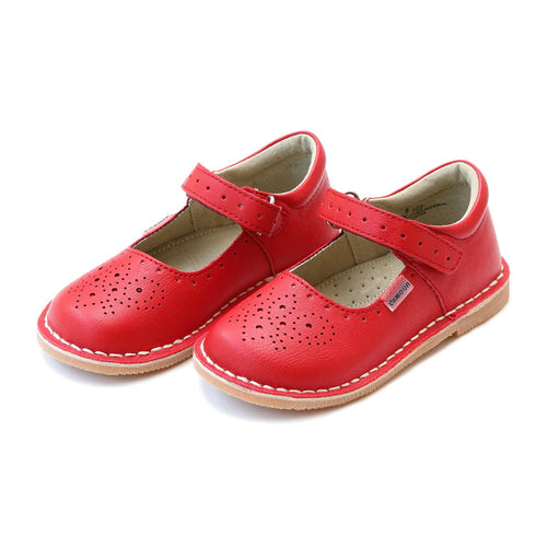 Ollie Red Stitch Down Leather Mary Jane - L'Amour