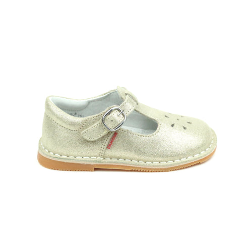Joy Classic Suede Stitch Down T-Strap Mary Jane - L'Amour Mary Janes