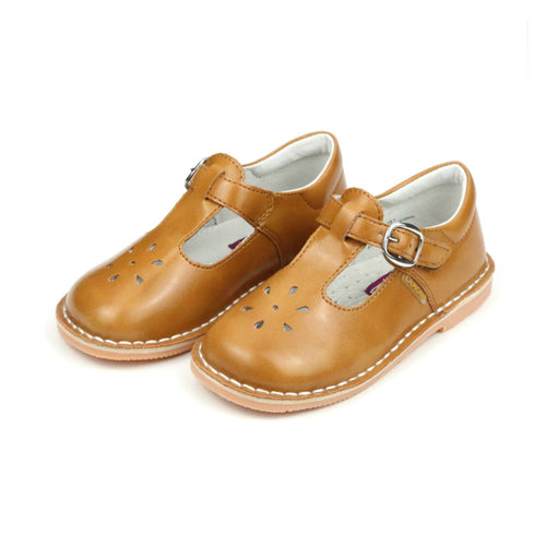 Joy Vintage Inspired Stitch Down T-Strap Mary Jane - L'Amour Mary Janes