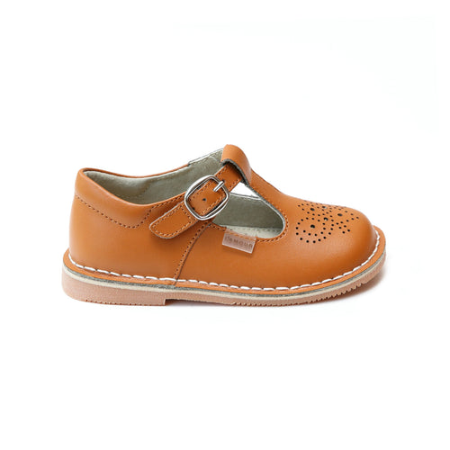 Ollie Terra T-Strap Leather Mary Jane