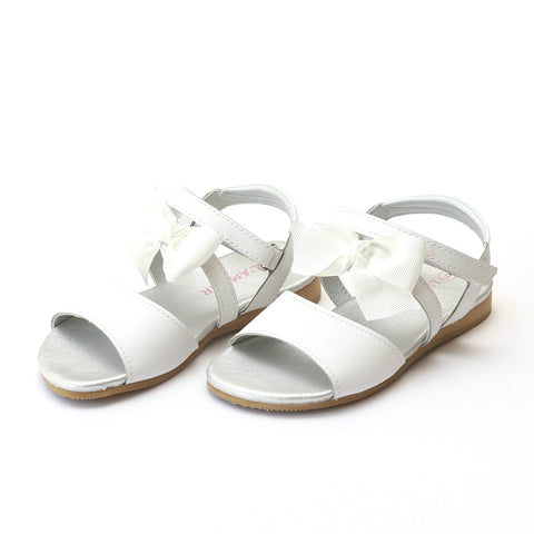 Joy Metallic Stitch Down Leather T-Strap Mary Jane