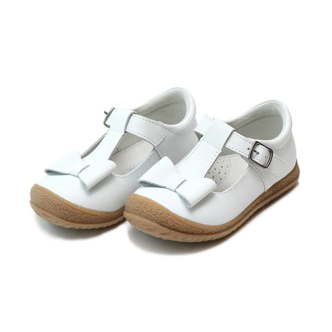 Joy Classic Nubuck Leather Stitch Down T-Strap Mary Jane