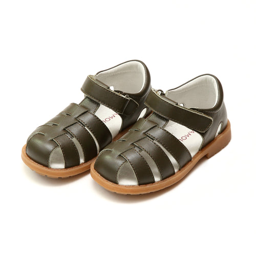L'Amour Boys Preston Classic Khaki Fisherman Sandal - L'Amour Shoes