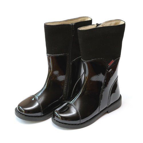 Priscilla Nubuck Leather Fashion Tall Boot - L'Amour Boots
