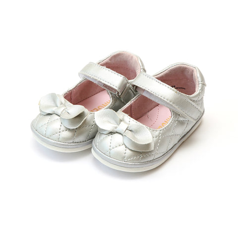 b64d67ffd2e994 Coco Quilted Mary Jane with Bow (Baby).  34.00. Grace Leather Stitch Down  School ...