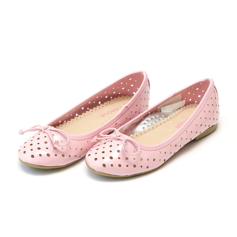 Mousie Leather Flat