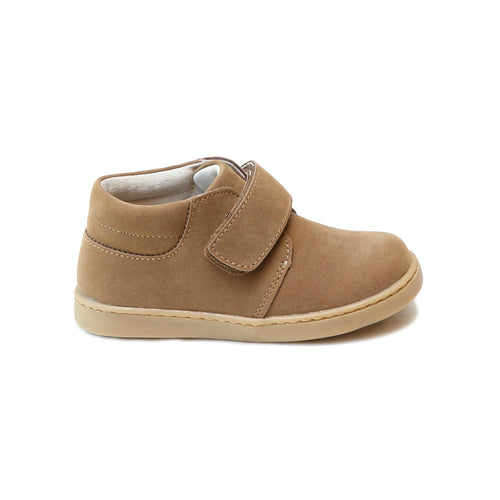 Parker Sporty Nubuck Khaki Velcro Boot - L'Amour Shoes