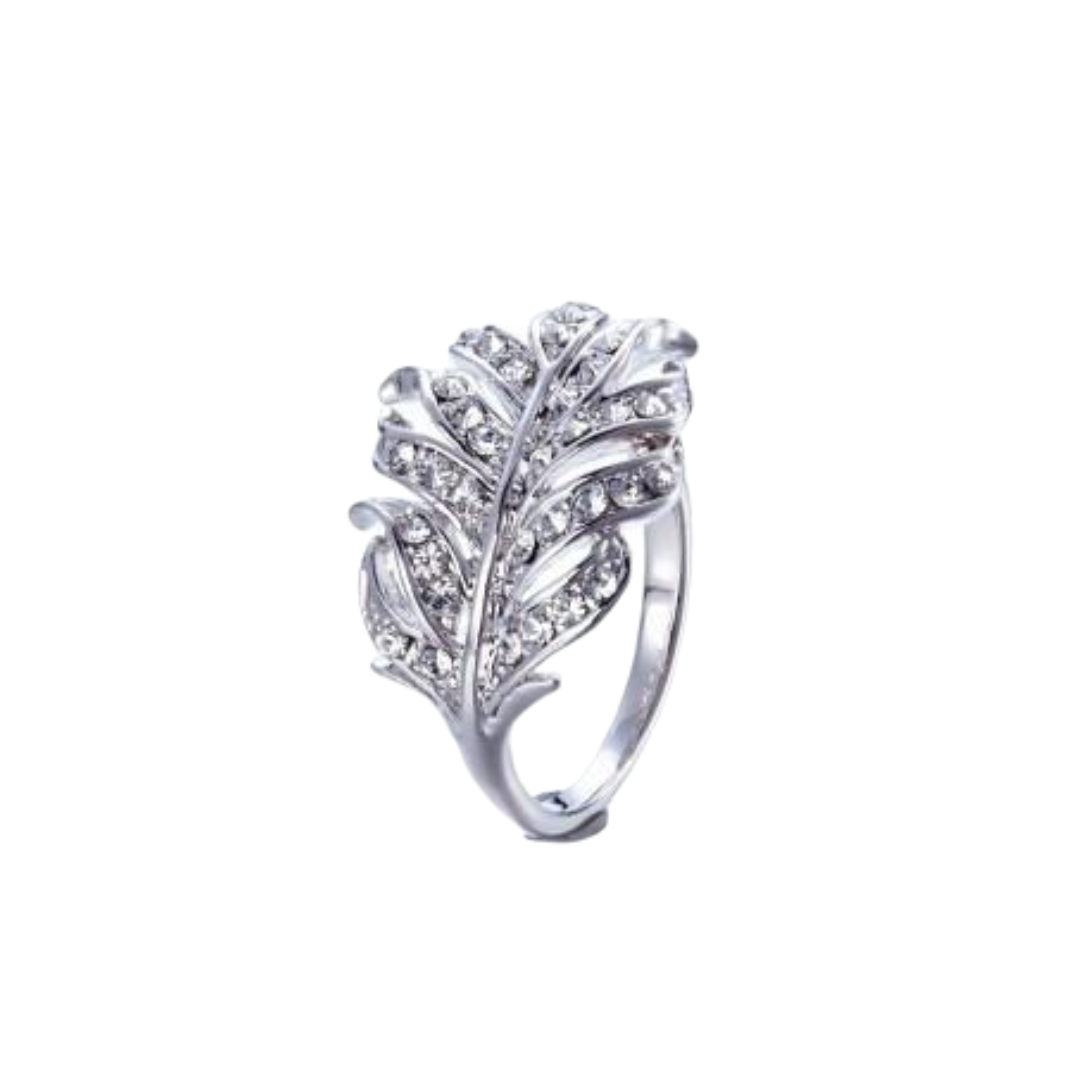 The shining big leaf ring - CDE Jewelry Egypt