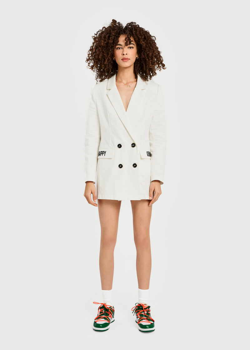 HAPPY GENIUS Blazer Dress